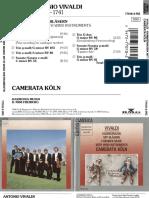Camerata Koln - Vivaldi- Chamber Music With Wind Instruments (1986, Harmonia Mundi)