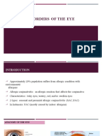 (766885416) Allergic Disorders of the Eye