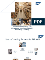 Stock Counting Using SAP Warehouse Management (WM