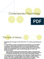 20th Century Psychology