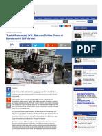 2016 - Tuntut Reformasi JKN, Ratusan Dokter Demo Di Bundaran HI 29 Februari