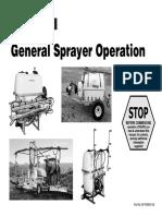 Gp-pom001108 - General Sprayer Operations