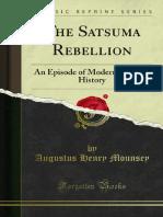 The Satsuma Rebellion 1000063690
