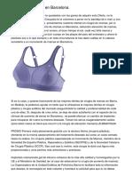aumento de senos en Barcelona