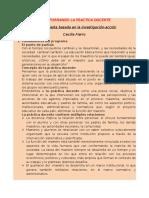 Transformando La Práctica Docente-Cecilia Fierro