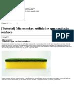 [Tutorial] Microondas_ Utilidades Que Você Não Conhece - Brazukas