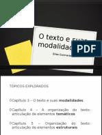 Guimaraes - O Texto e Suas Modalidades PPT