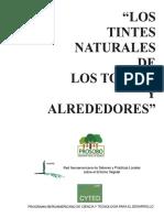 Tintes Naturales del norte argentino