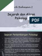ALIRAN PSIKOLOGI SASTRA