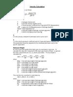 Brochures Velocity Calculation