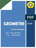 Latihan Geometri - Jarak