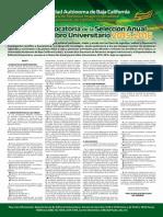 Convocatoria Libro Universitario 2015 24 Nov