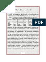 What is Bituminous Coal?
