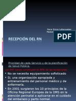 Recepción Del RN