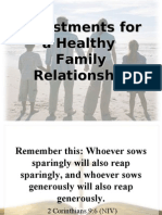 Investments for a Healthy Relationship