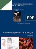 Alteraciones Hematologicas en el ejercicio