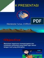 Tehnik Presentasi Wardanela