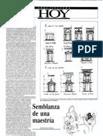 Articulo en Arquitectura Hoy 1994