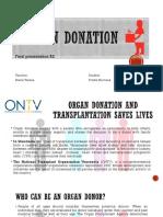 Organ Donation Final Presentation B2