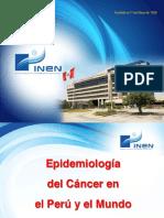 Epidemiología Del Cancer