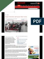 2014 - Bengkel Astra Motor Jadi Rujukan _Biker_ Honda