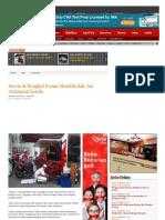 2014 - Servis Di Bengkel Resmi Membludak, Ini Antisipasi Honda