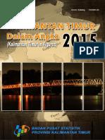 Kalimantan Timur Dalam Angka Tahun 2015