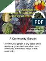 Community Gardens
