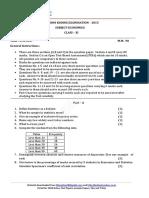 Economics sample paper