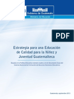 Documento Estrategia Para Una Educación de Calidad Final Completa