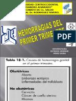 Hemorragias Del i Trimestre