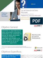 Toshiko-Microsoft Proteccion de Datos Personales