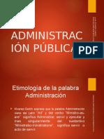 Diapositiva Primer Punto Derecho Admon Licda Yoli