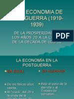 Crisis económica años 20 y 30