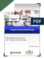 Programa de desarrollo directivo
