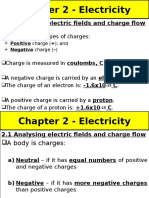 2.1 Analysing Electric Fields and Charge Flow