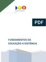 FUNDAMENTOS DA EDUCAÇÃO A DISTÂNCIA