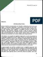 1 - Ética e Política