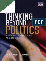 Thinking Beyond Politics