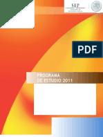 Programa Asignatura Estatal Geografía de Tabasco. Dictaminado Sep
