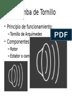 Bomba de Tornillo
