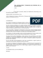 Regimen Licencias Administración Pública Argentina