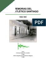Memorias Del Club Atlético Santiago Por Victoriano Pico