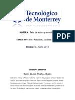 MIV– U3 – Actividad 2. Análisis de Textos (3)