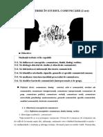 Tema i, Initiere in Studiul Comunicarii