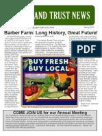 JULT Spring 2010 Newsletter