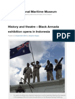 History and theatre – Black Armada exhibition opens in Indonesia | Australian National Maritime Muse.pdf