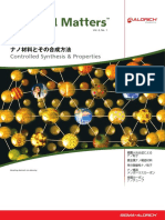 ナノ材料とその合成方法 Material Matters v4n1 Japanese