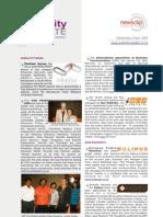 PUBLICITY UPDATE - 09 April 2008