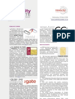 PUBLICITY UPDATE - 26 March 2008